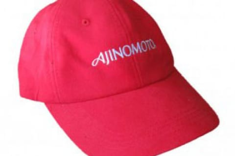 Mũ lưới trai thêu -Màu đỏ